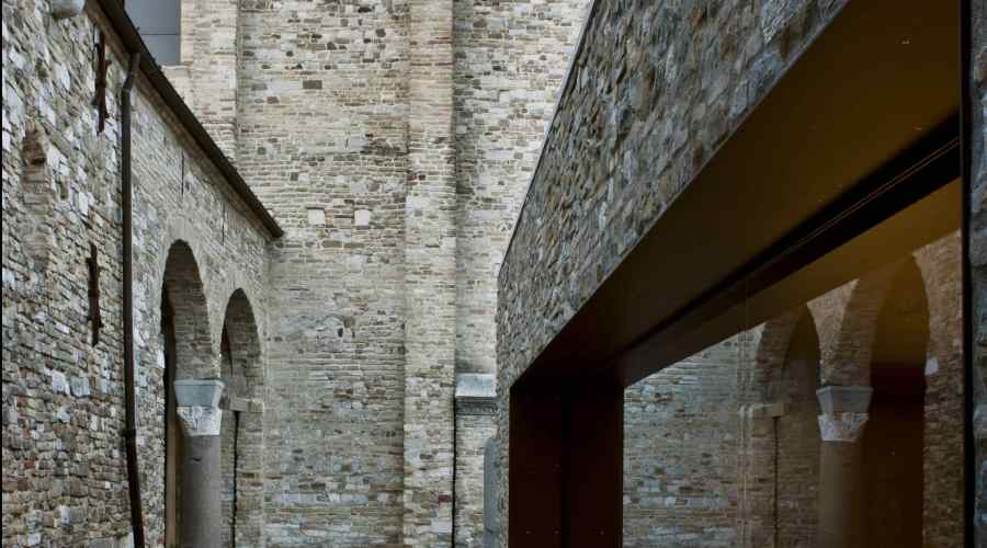 Aquileia_Aula di Cromazio (studio GTRF)