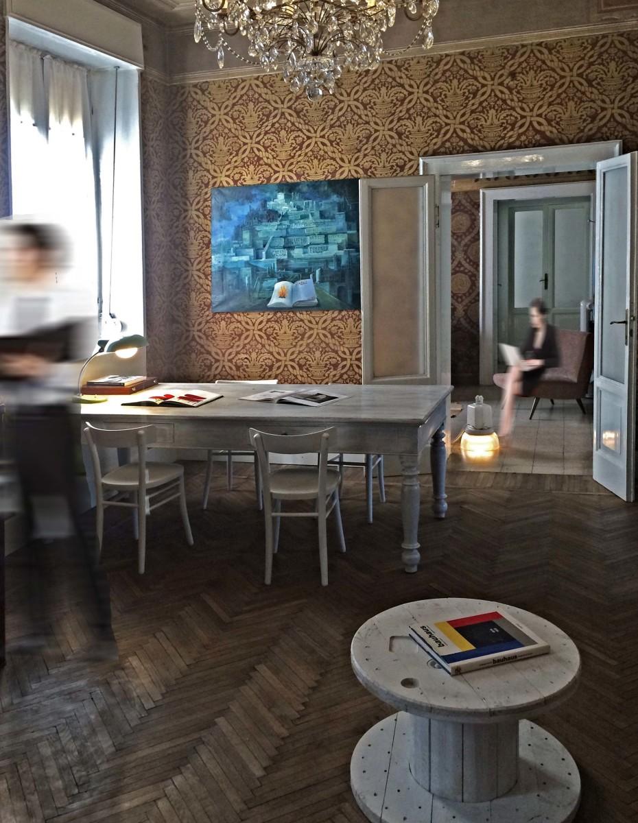 Interno_Studio di Architettura Gianni Naoni